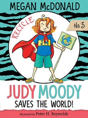 cover image of Judy Moody Saves the World!